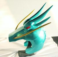Dragon Helmet Saint Seiya by ilustrastudios