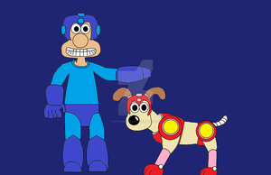 Wallace and Gromits Halloween costumes by OptiMario94