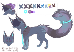 tailmouth fox adopt -CLOSED- by WhiteTieAdopts