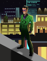 Riddler appearance by pink-ninja