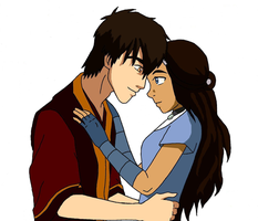 Zuko and Katara by MaegRo