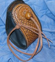 BasketWeave Purse by larrysleather