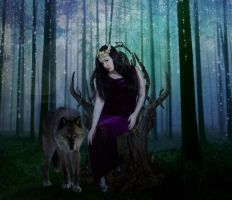 Queen of Wolves by PattiPix