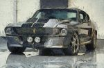 Shelby GT500 Eleanor by VoDooClown