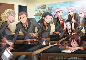 Commission - Wacky Class by Suihara