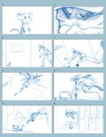 Art 2 - Rough Storyboards by Kuurion