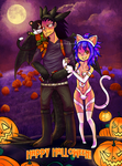 Happy GaLevy Halloween by acidic-fire