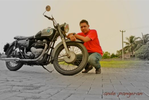 AJS motorcycle by andepangeran