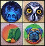 Wearable Art: Animals by Myrcury-Art