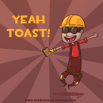 YEAH TOAST by ColonelCheru