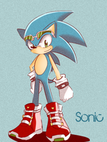 Sonic. by SSuper-Sonic