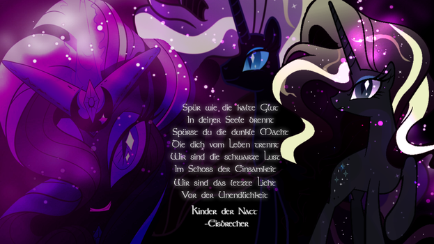 MLP Wallpaper [Commission] by Anakin-Caffrey