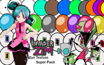 Invader Zim Super Eye Texture Pack by Imalune