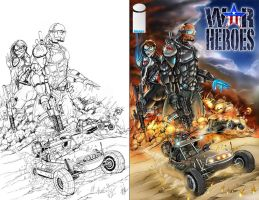 War Heroes Cover - Combo by jamietyndall
