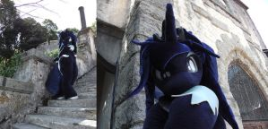 Princess Luna fursuit by kensingshow