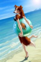 Beach Breeze by hyhlion