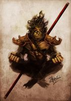 Monkey King by zamzami