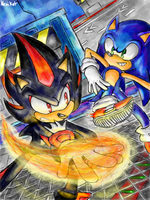 Sonic Battle by NENIKAT