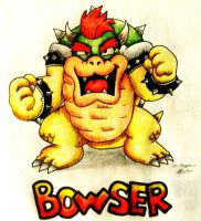 KING BOWSER by JettAilchu-92