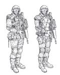 Concept GDI Soldiers by WWS by CommandandConquerRTS