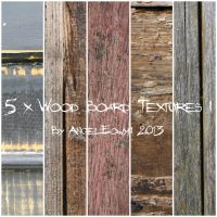 Wood Boards Texture Pack 1 by AngelEowyn