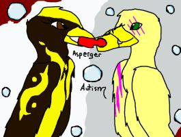 Asperger and autism. by CelineDGD