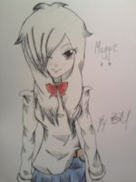 My OC of Fairy Tail - Maggie by RukiRose