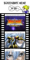 Saint Seiya the Lost Canvas Screen Shot Meme by Altonaix