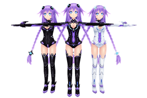Hyperdimension Neptunia V, Purple Heart by xXNekochanofDoomXx