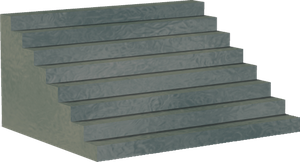 Stairs Grey 2 Png Clipart by clipartcotttage
