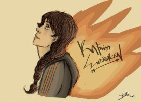 THG: Katniss Everdeen: FIRE by xxIgnisxx