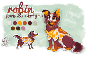 robin - litter commission by BabyWolverines