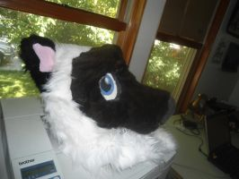 Siamese Cat fursuit head 2 by aquaheartthecat