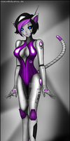 Robot Kitty by Rosvo