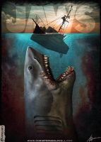 JAWS by Lovell-Art