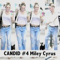 Candid #4 Miley Cyrus by SMILERMICHELY