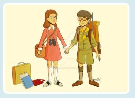 Moonrise Kingdom by animegirl43