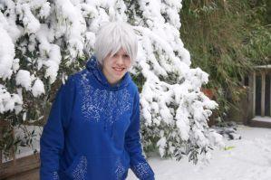 Jack Frost - Under The Snowy Tree by GrayIceFullBuster