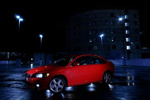 Cool Night For The S40 by Dilznacka