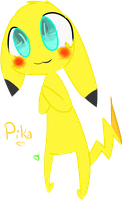 Pika by HiImPookie