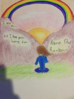 Above that Rainbow by PandaLovesInvaderZim
