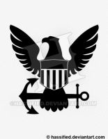 Eagle with Anchor by hassified