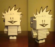 Calvin Cubeecraft Mock-Up by mininudoidu