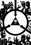 SCP Foundation X Gravity Falls by SunnyParallax