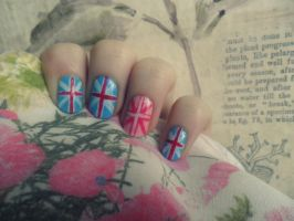 Union Jack by NailedItWithGlitter