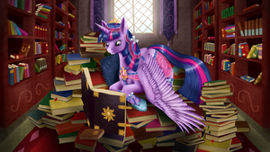 Twi and books by Szafir87