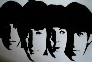 Beatles by sinsenor