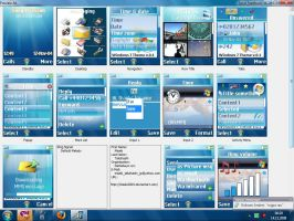 Windows 7 Theme for W800i by Misaki2009