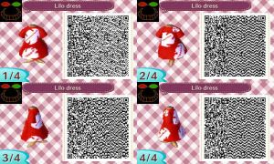 ACNL QR Code - Lilo dress by JessicaIngmann