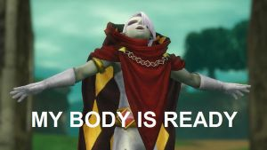 Ghirahim's body is ready by GenZelda